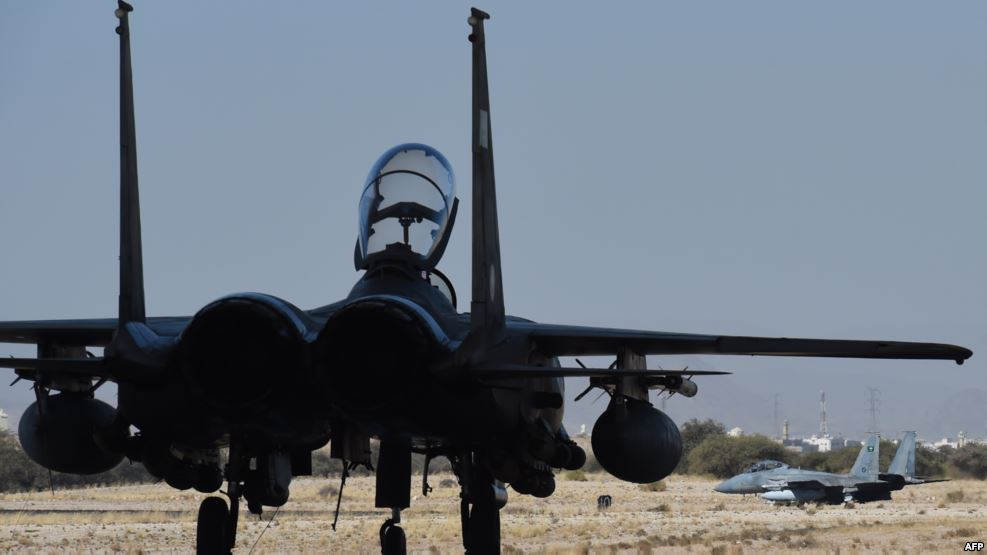 Saudi F-16 Downed in West-Central Yemen: Report