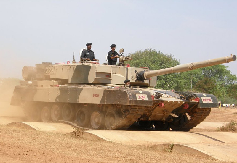India Sends Nearly 100 Tanks to Chinese Border