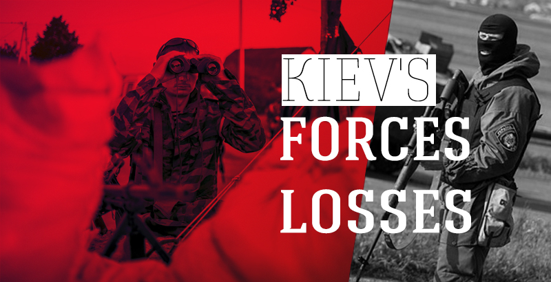 Losses Continue to Mount for Kiev in Donbass