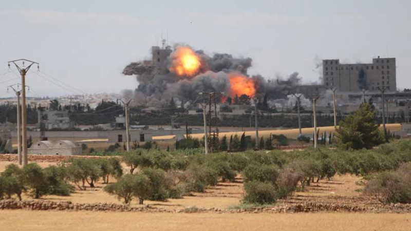 US-backed Advance on ISIS: 135 Kurdish Fighters Killed in 3 Days in Syria (GRAPHIC PHOTO & VIDEO)