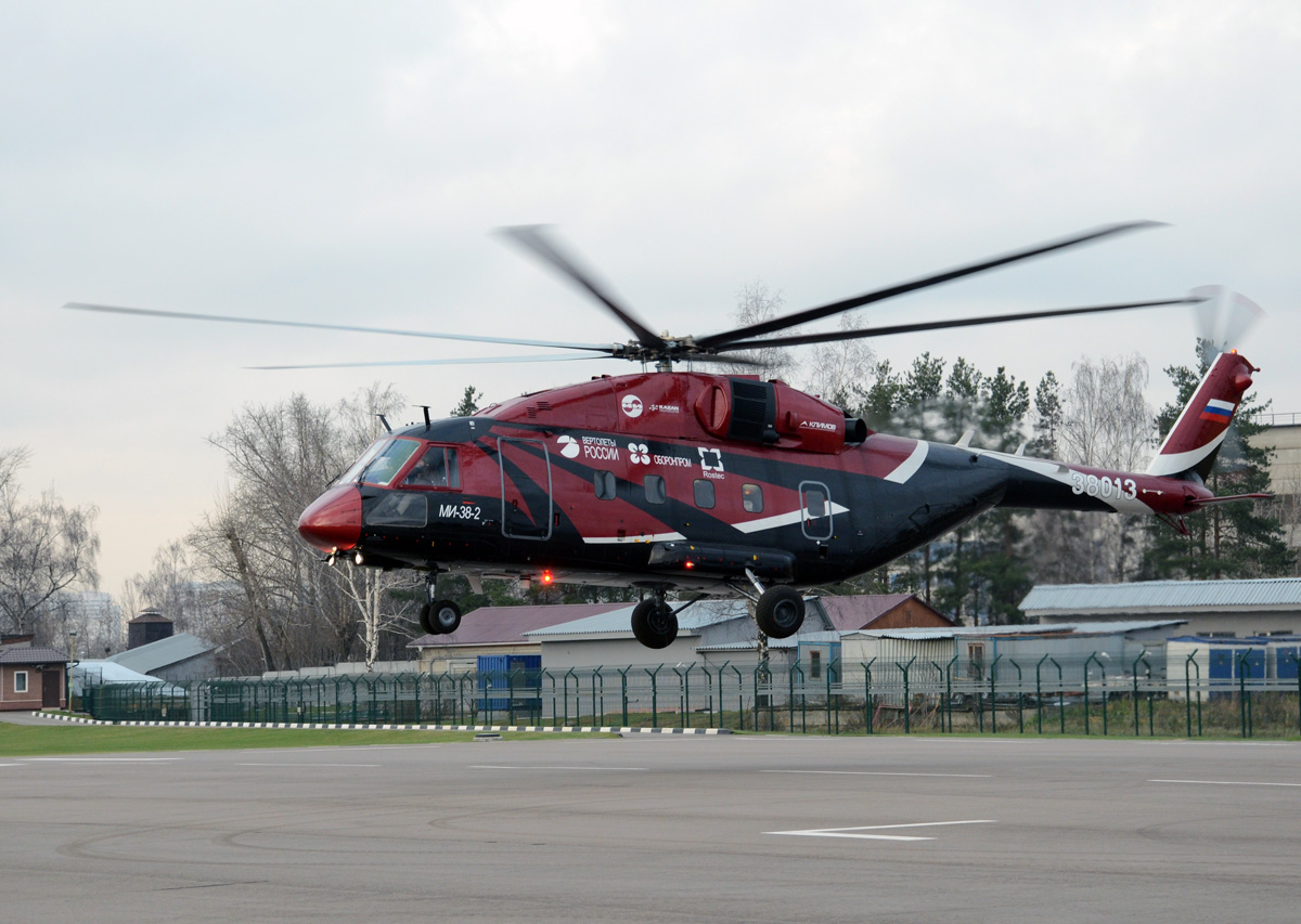 Helicopter Mi-38 Is Testing for Flights in Arctic