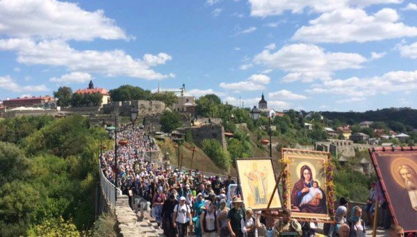 Ukraine: Peace March Of Orthodox Church Reaches Kiev