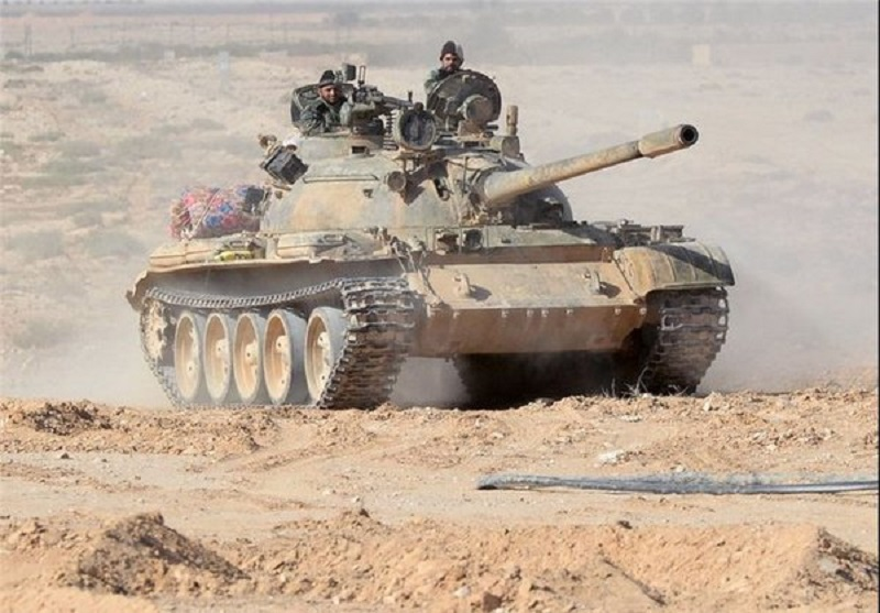 Syrian Army recovers all lost points from ISIS in east Palmyra