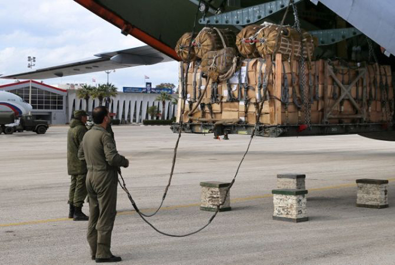 Russia Delivers Humanitarian Aid to Syrian Aleppo, Homs & Deir Ez-Zor
