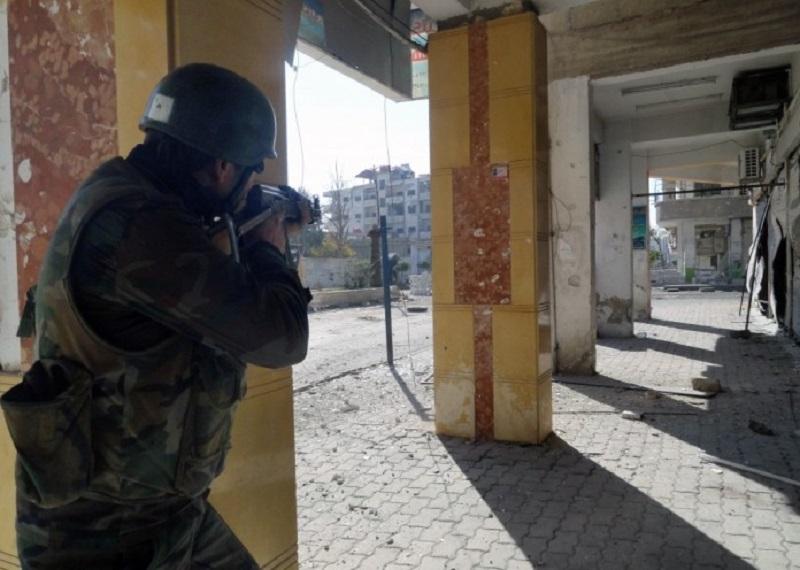 Syrian Army approaches strategic Darayya Railway