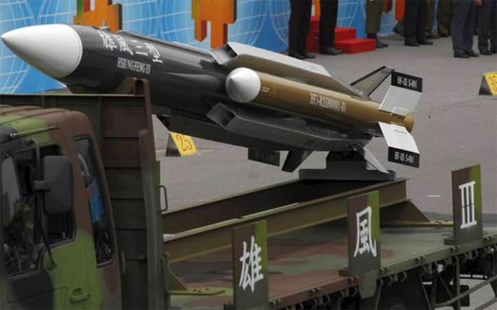 Taiwan Fires Anti-Ship Missile Dangerously Close to China