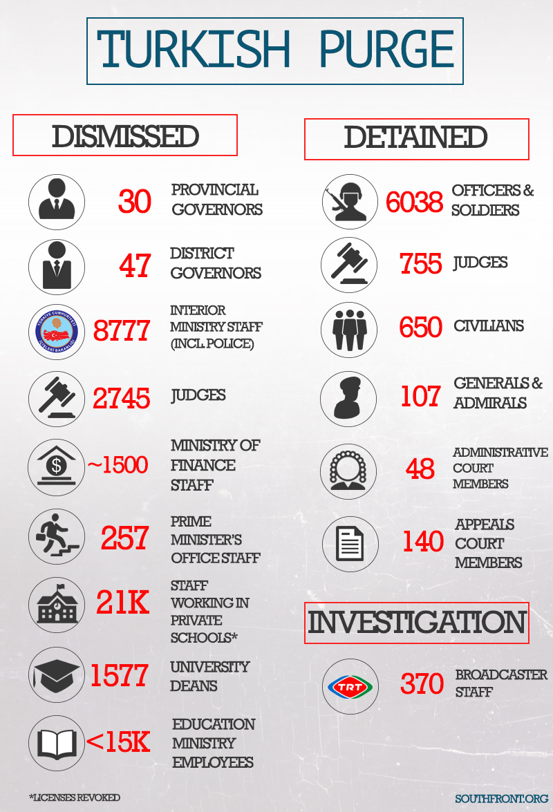 Turkish Purge (Infographics)