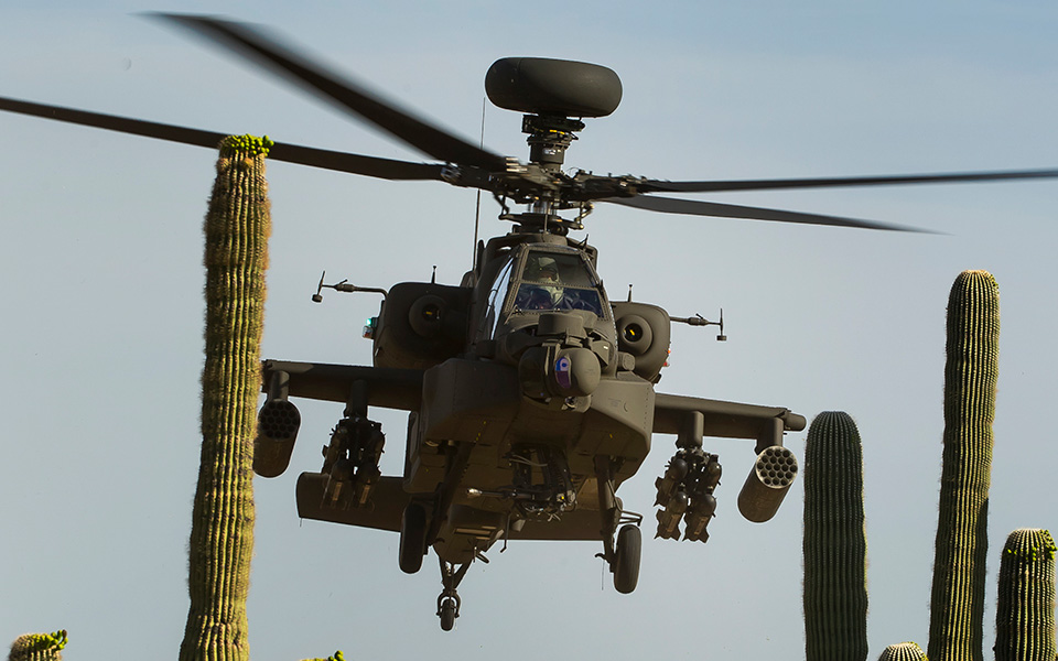Saudi AH-64 Apache Attack Helicopter Crashed in Yemen: 2 pilots killed
