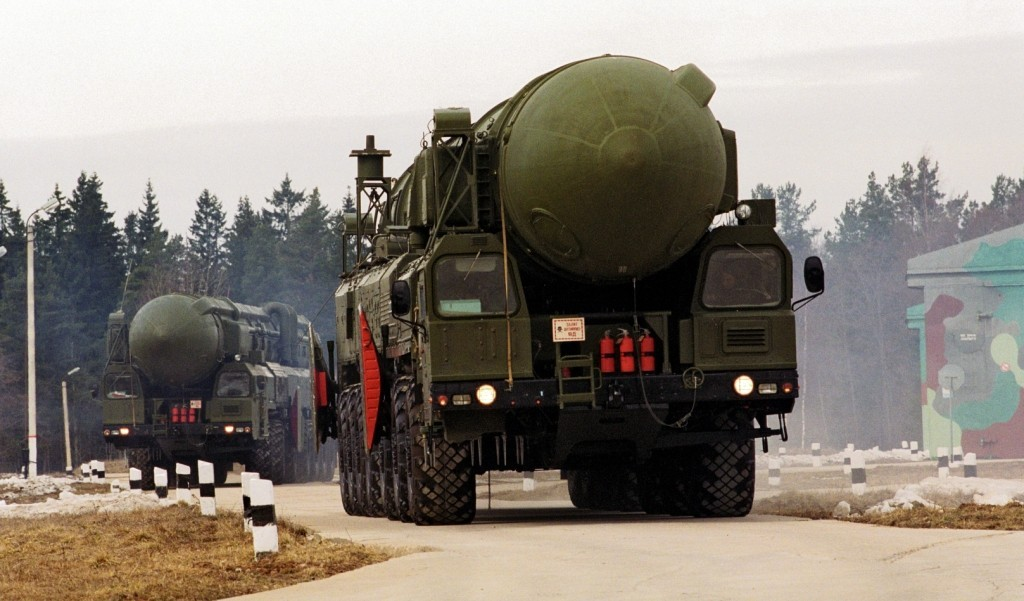 UAV Captures Exercises of Russia's Strategic Missile Forces