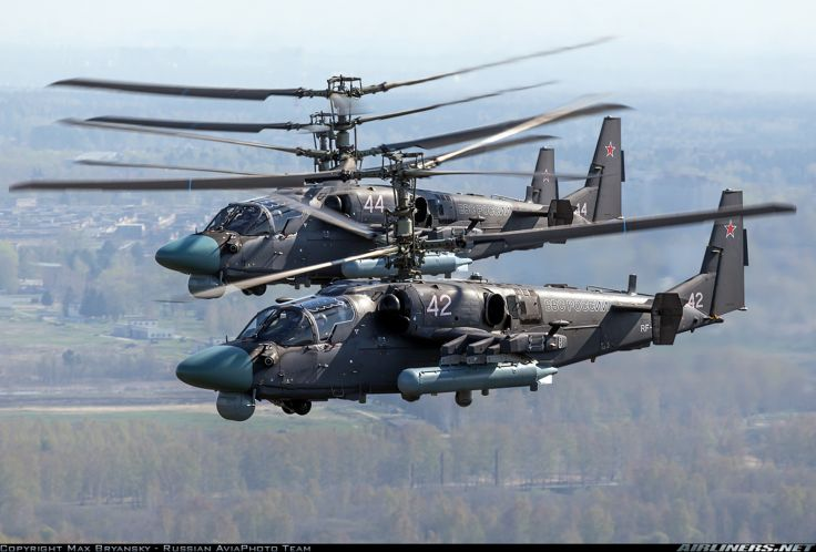 Russia to Deploy more Advanced Ka-52 Helicopter Gunships to Syria