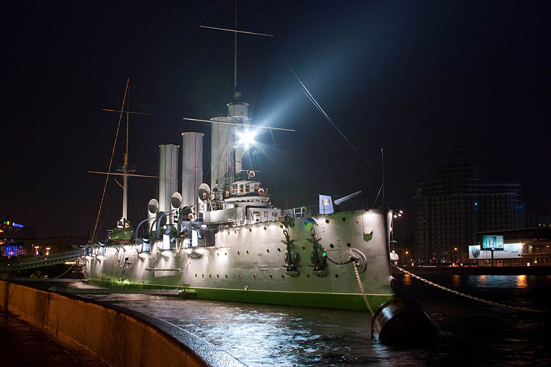 Armored Cruiser Aurora to Be Handed to Russian Navy on July 15
