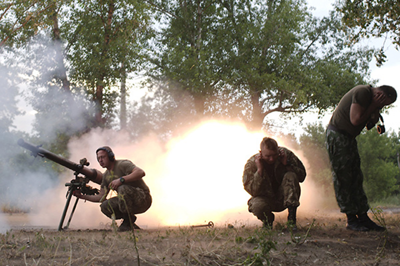 Donbass: Details on the Ukrainian attack on Logvinovo