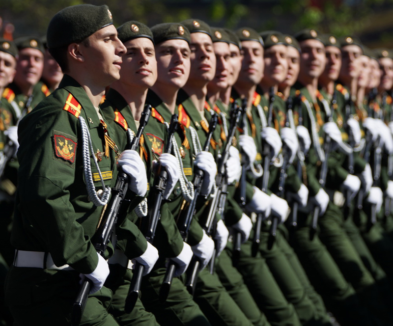 Putin Increases Russian Armed Forces' Organic Strength