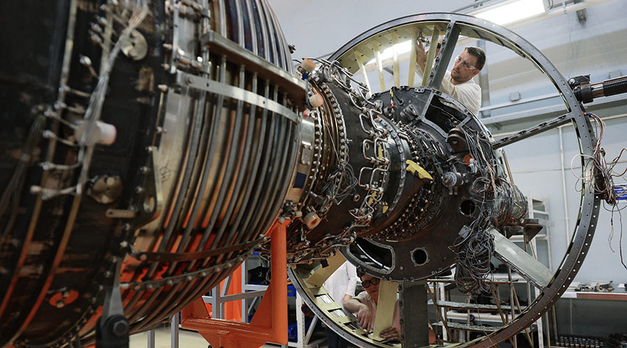 Russia Creates Aircraft Engine for 6th-Generation Space Jets