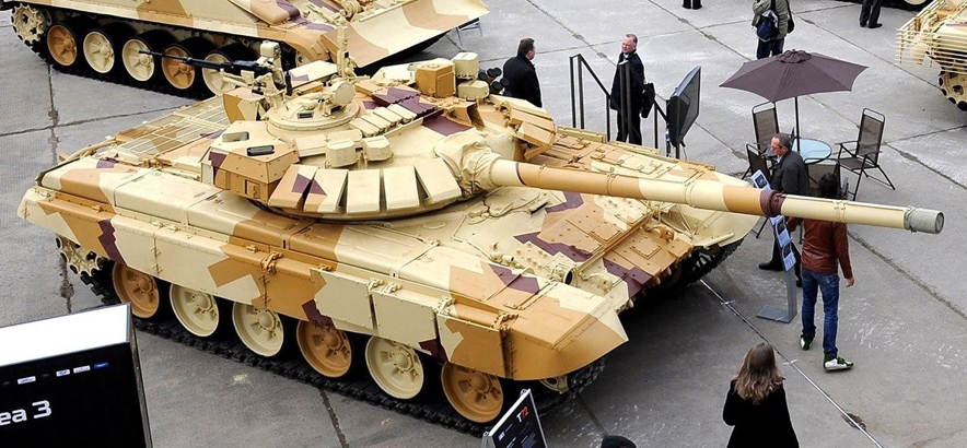 Upgraded T-72B3 MBT for Russian Airborne Force
