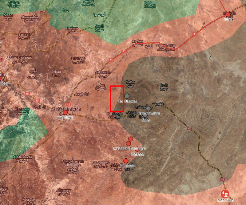 Syrian Army Regains Lost Territories East of Hama