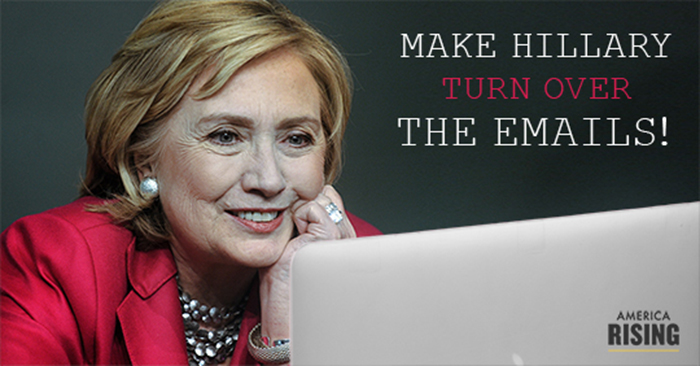 US State Department: Hillary's E-mail Issues Not Our Problem