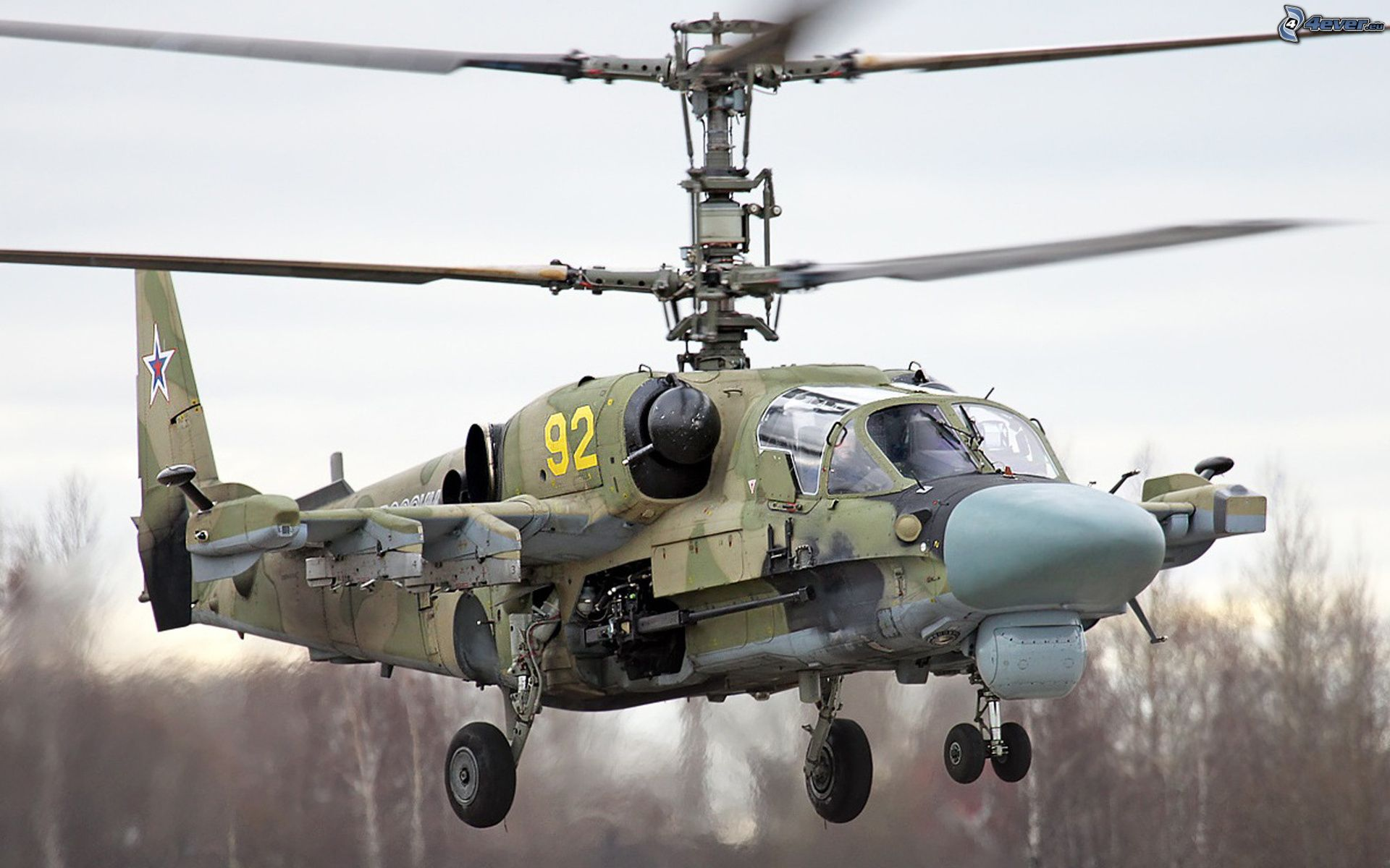 Russian Military to Recieve 146 Ka-52 Helicopter Gunships by 2020