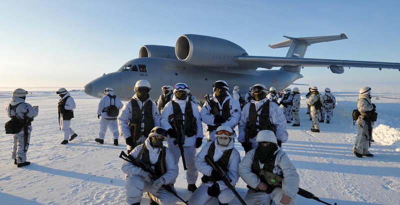 Russian Defense Ministry to Build and Reconstruct 10 Airfields in Arctic