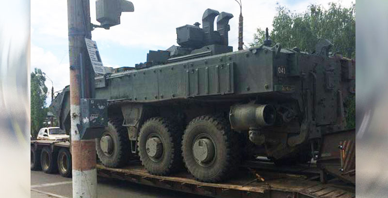 First Photos of Russian Amphibious Personnel Carrier 'Bumerang' Appeared on Network