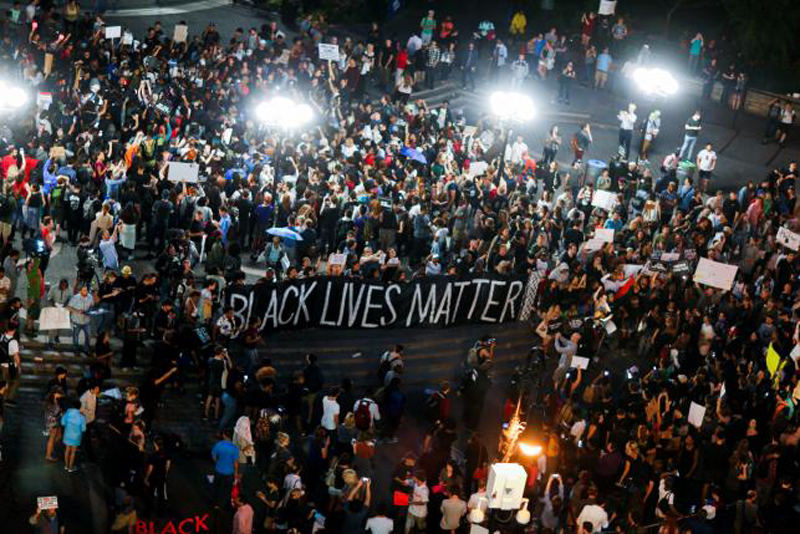 Protests Against Killings of Black Men Block Roads in US Cities