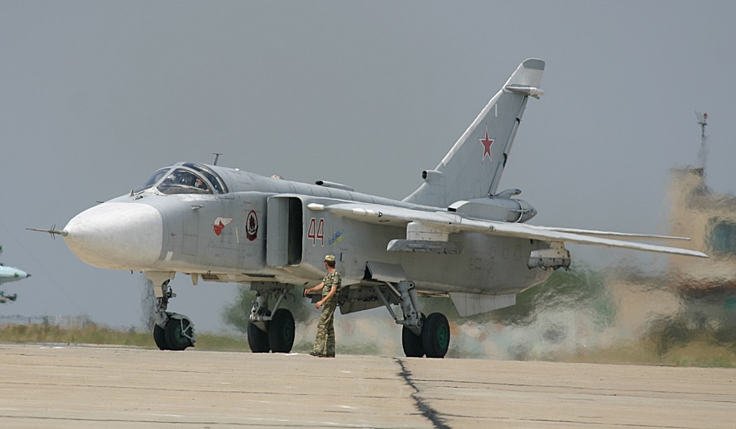 Syrian Armed Forces Receive Ten Russian Frontline Bombers SU-24M2