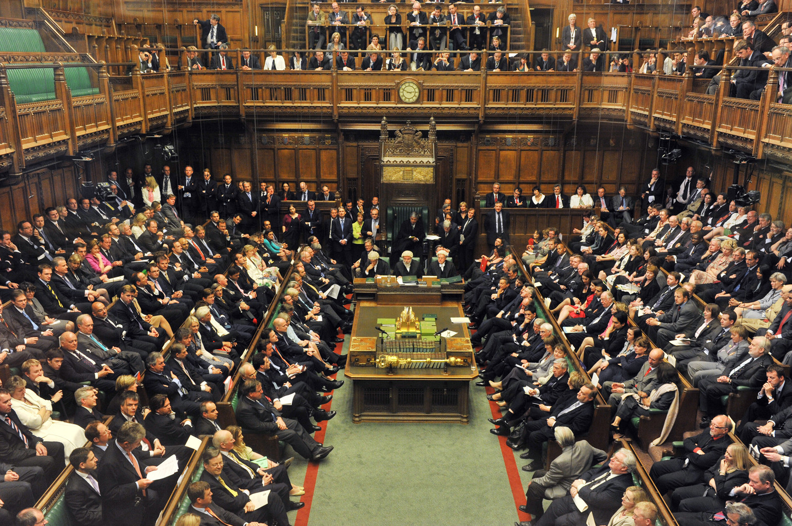 Unraveling of the British Political System
