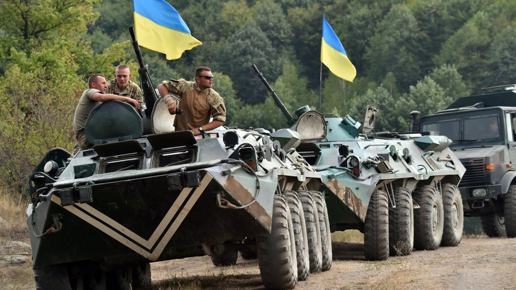 4,000 Ukrainian soldiers to be trained by UK instructors by March 2017