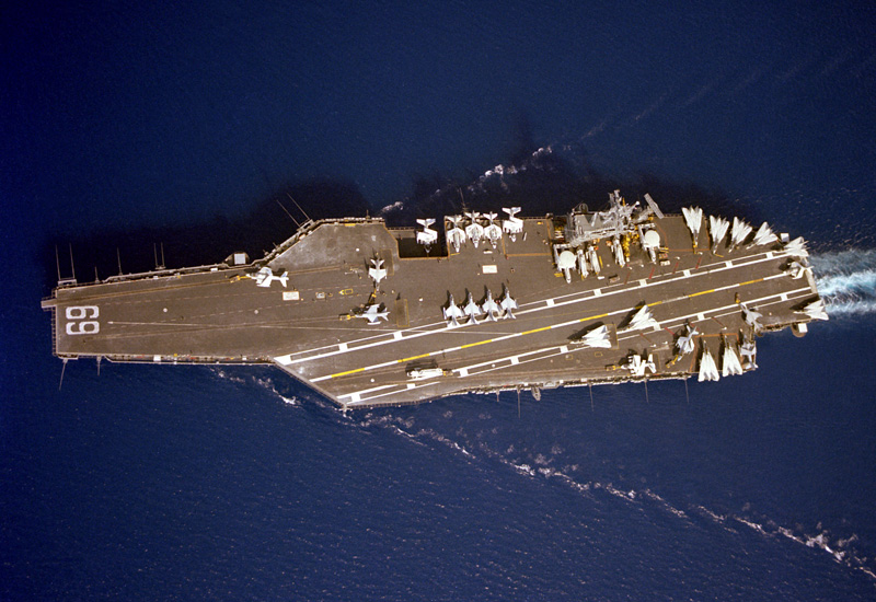 US Eisenhower Carrier Strike Group Starts Anti-ISIS Operations From Persian Gulf