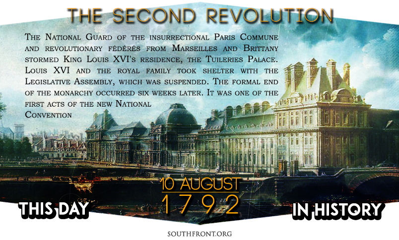 This Day in History: French Revolution - Insurrection of 10 August 1792