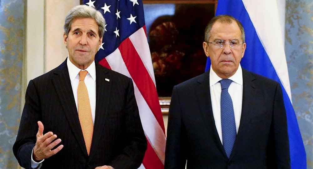 Lavrov and Kerry Negotiating on Action Coordination in Syria