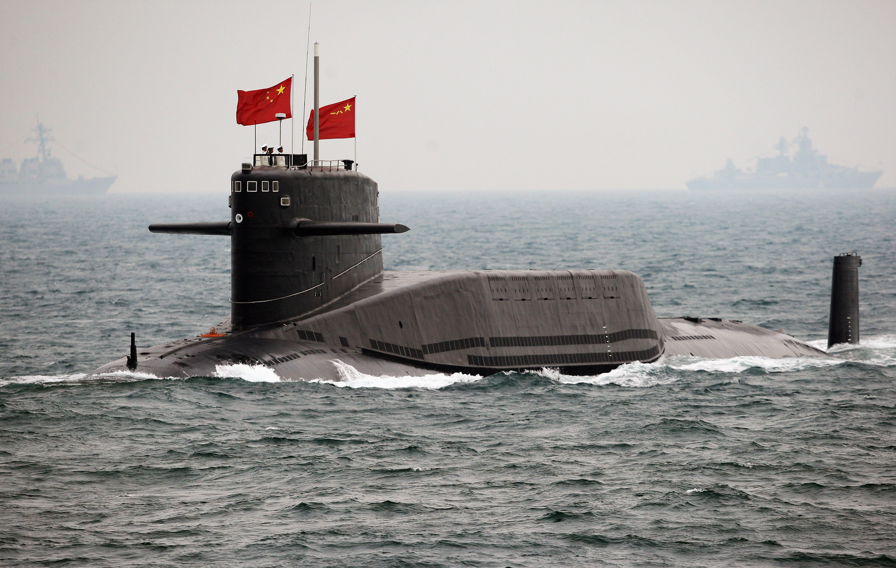 Russia & China to Hold Drills in South China Sea in September