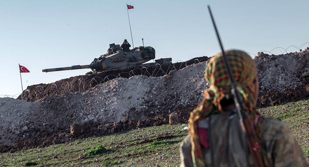Jarablus is Under Control of Turkish Tank Units