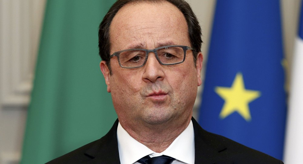 French President: I Regret Sanctions Against Russia