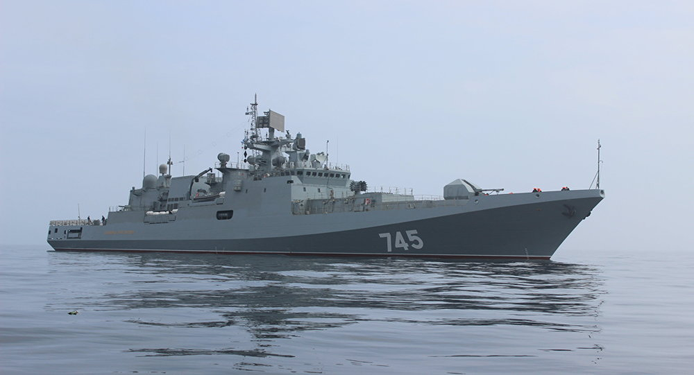 India to Buy Three Russian Admiral Grigorovich Guided Missile Frigates without Engines