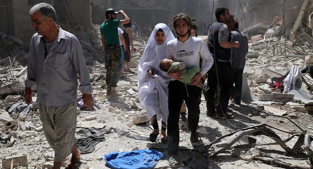 About 50 Civilians Leave Aleppo Through Humanitarian Corridors