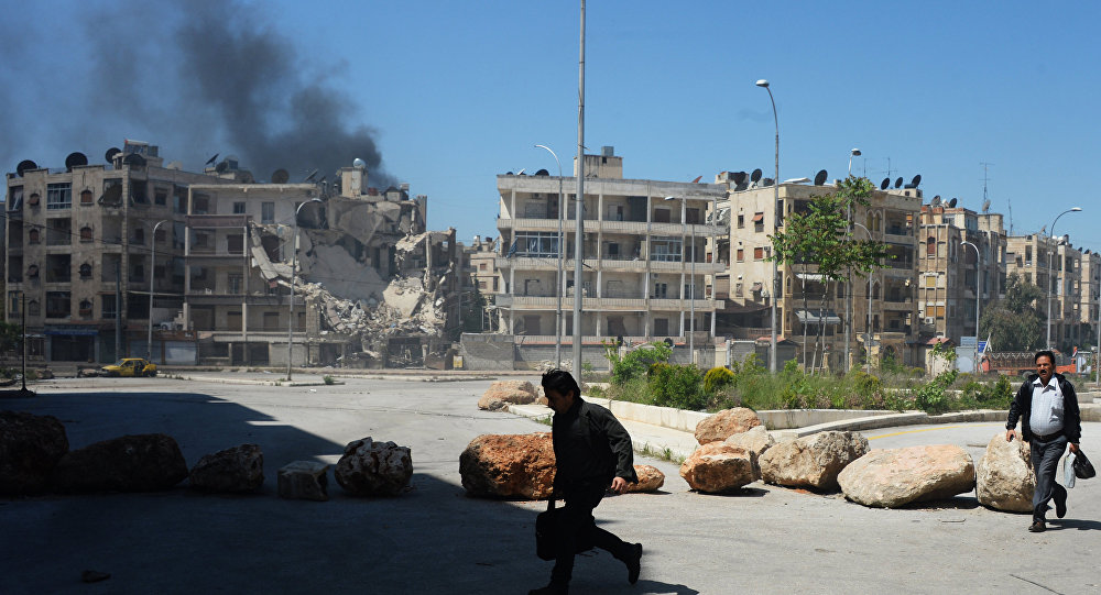 Militants Use Chemical Weapons in Aleppo City