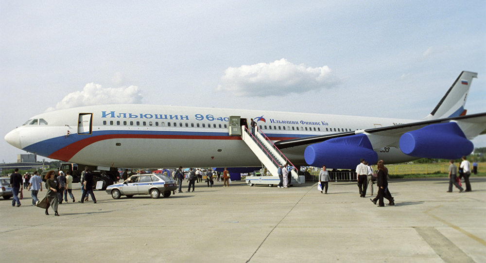 Russian Military Get Customized Il-96-400 'Doomsday Plane'