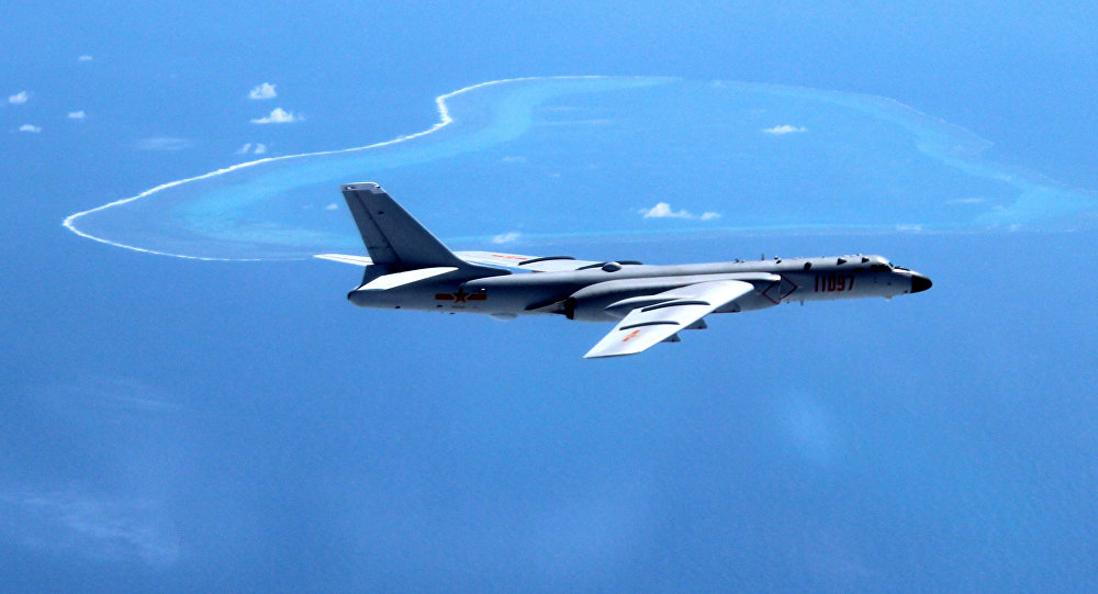 Beijing Sends Bombers & Fighter Jets to Patrol Disputed Islands in South China Sea
