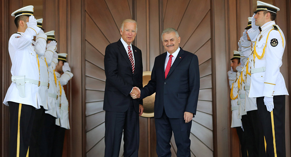 Biden: Turkey Prepared to Stay in Syria As Long As Needed