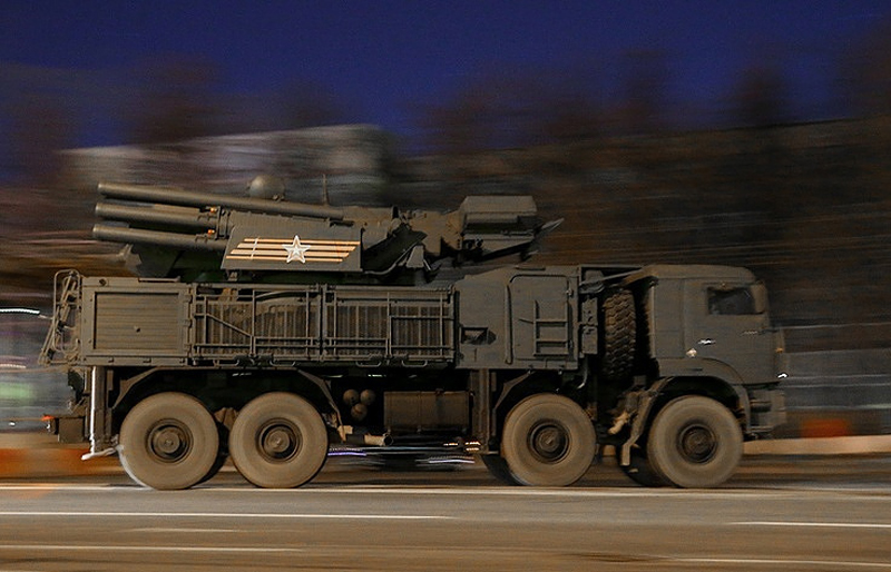 Advanced Pantsyr-S1 Antiaircraft Missile Systems Starts Combat Duty in Russian Far East