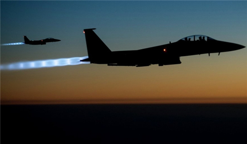 US-led Coalition Intensifies Air Raids in Iraq