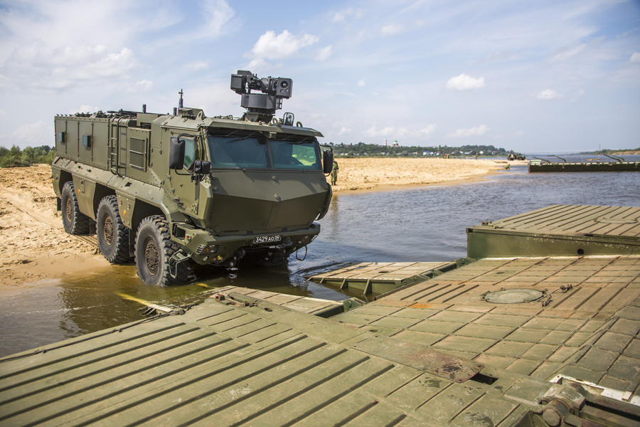 Russia Unveils MRAP Vehicle Typhoon with New Remote Controlled Turret (Photos)