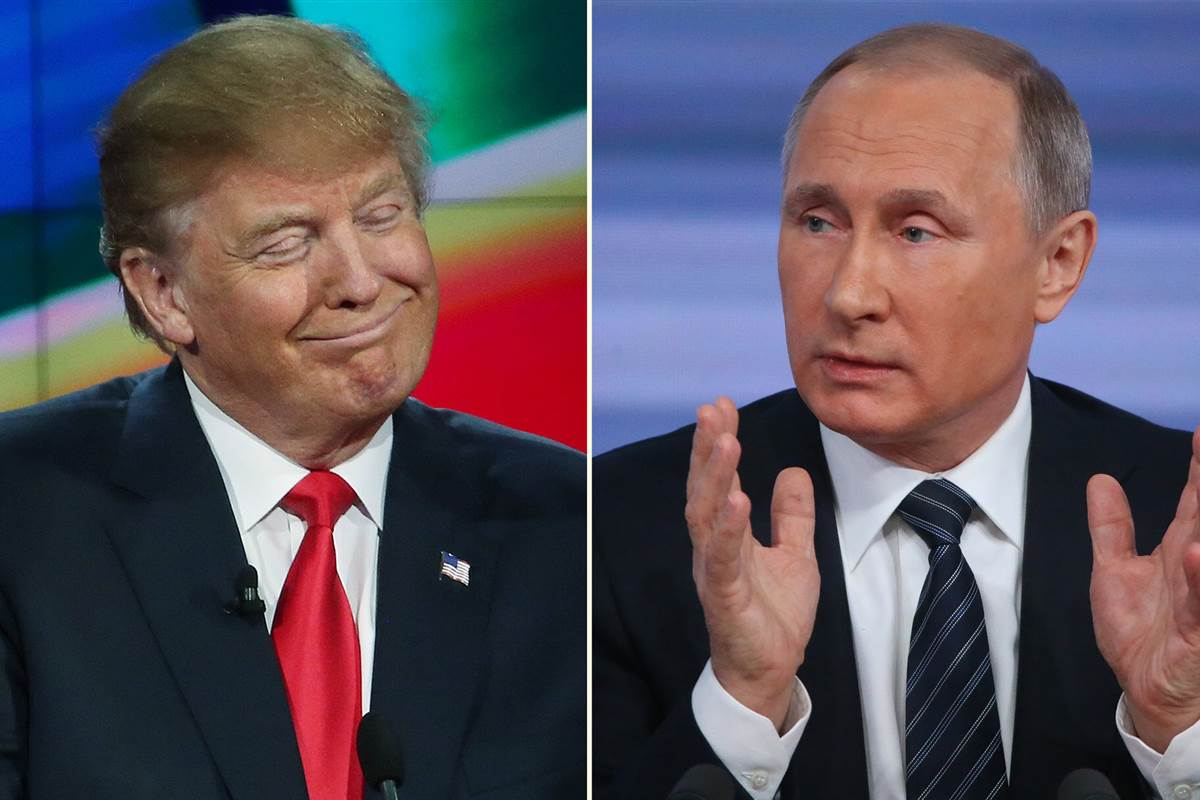 Trump and Putin Will Divide the World at a New Yalta