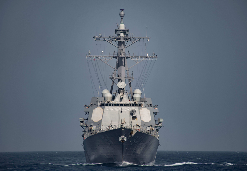 Iranian Military Vessels 'Attacked' US Destroyer near Strait of Hormuz