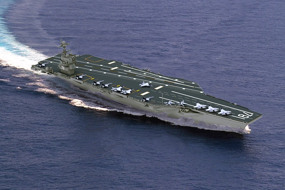 Newest US Aircraft Carrier Gerald R. Ford Declared Incapable