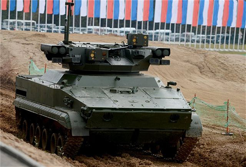 First Russian Unmanned Combat robocraft Udar Ready for Testing
