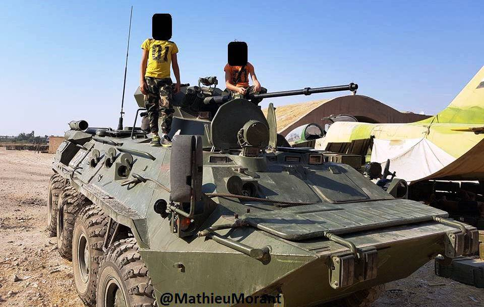 Media: Russian BTR-80/82 & Vystrel Armored Vehicle Confirmed Its High Quality in Syria (Photos)