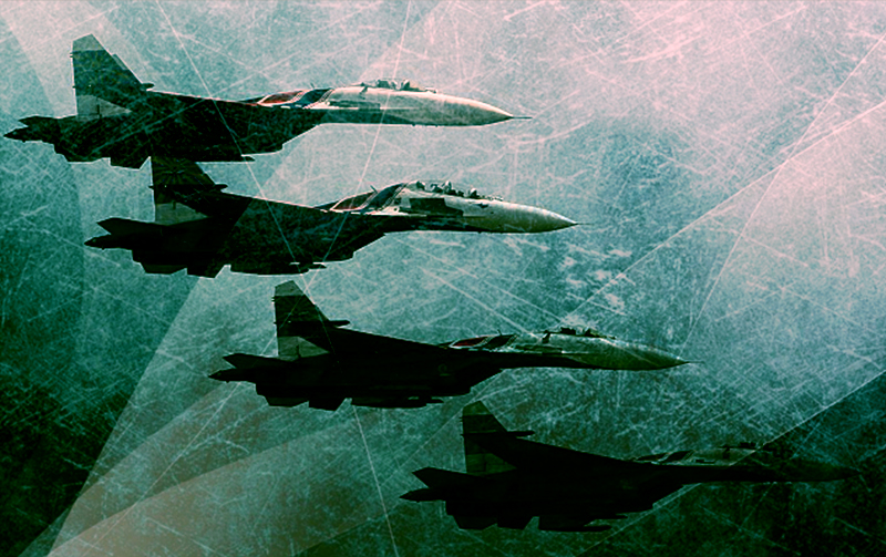 Russian Air Force crushes ISIL's offensive in Deir Ezzor City