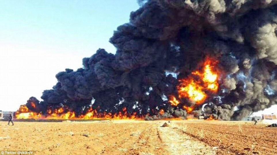 Fatah Al-Sham's Logistic Convoy Blown Up in Idlib